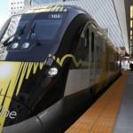 Brightline inaugura percurso de trem que conecta Miami a Fort Lauderdale-West Palm Beach, na Flórida (EUA)