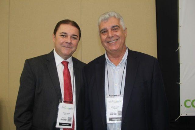 Elizeu Barros (presidente da ABIH Ceará) e Alfredo Lopes (presidente da ABIH Rio de Janeiro)