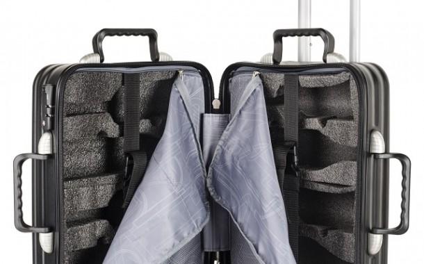 Bagaggio lança mala de viagem própria para transportar garrafas de vinho