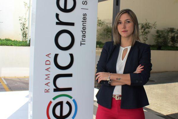 Ramada Encore Tiradentes (SP) apresenta Neyre Freixo como nova gerente geral