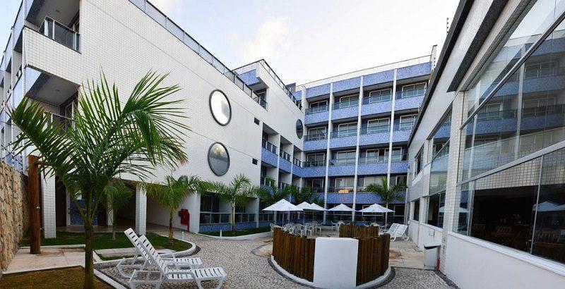 O Happy Hotel Ponta Negra é a primeira unidade da empresa administradora de hotéis (Crédito: arquivo DT)