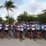 Ciclistas brasileiros pedalam 440 Km de Miami a Orlando