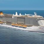 Costa Cruzeiros informa que vai expandir e renovar sua frota de navios