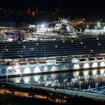 MSC Seaview é batizado em cerimônia glamourosa no porto histórico de Gênova