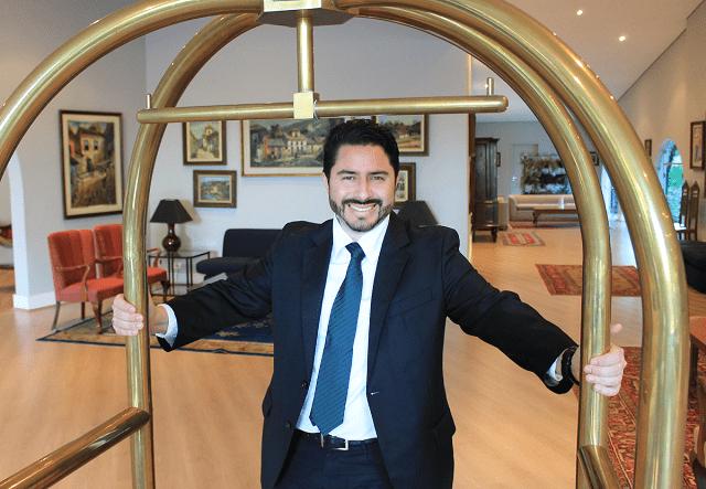 Rodrigo Alk, gerente geral do Hotel Clube dos 500: