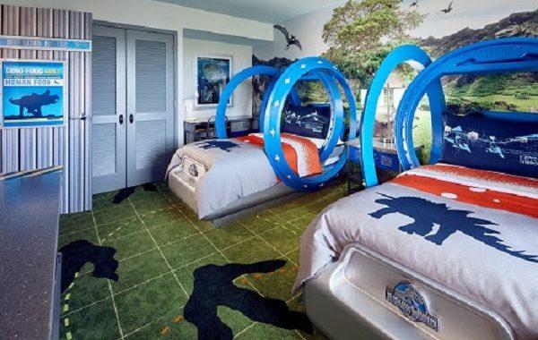 Universal Orlando Resort revela as novas suítes infantis do Jurassic World no Loews Royal Pacific Resort