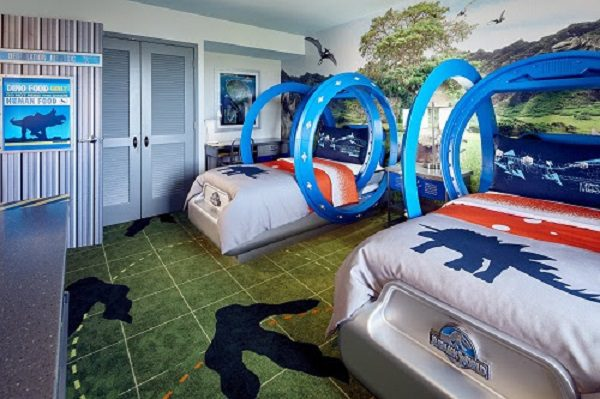 Universal Orlando Resort revela as novas suítes infantis do Jurassic World no Loews Royal Pacific Resort
