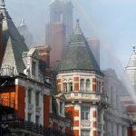 Incêndio destrói hotel cinco estrelas em Londres