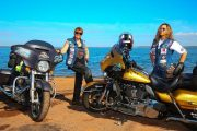 Mulheres viajam de moto do Paraná até Milwaukee (EUA) e levam a bandeira da prevenção do câncer de mama