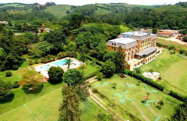 O Hotel Paradies está localizado na cidade de Jarinu, a 75 km de São Paulo, (Crédito: divulgação)
