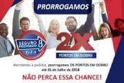 Campanha Seguro Premiado 8 da GTA prorrogada até dia 31 de julho
