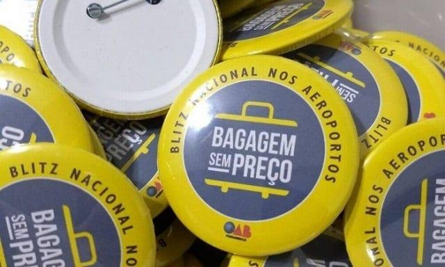 OAB faz blitz contra cobrança de bagagens nos aeroportos