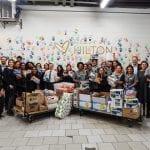 Hotéis Hilton comemoram Semana Global de Serviços
