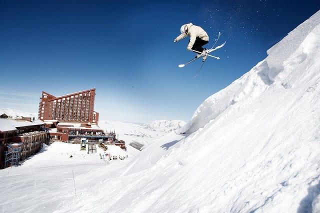 Valle Nevado será palco de treinamento de esportes de inverno