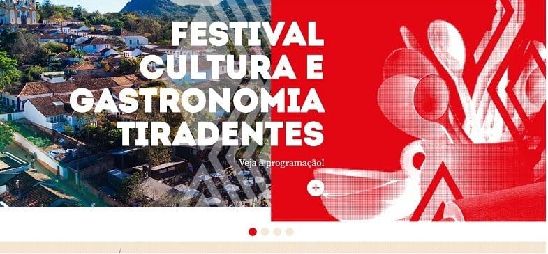 Festival Gastronômico de Tiradentes comemora os 300 anos da cidade