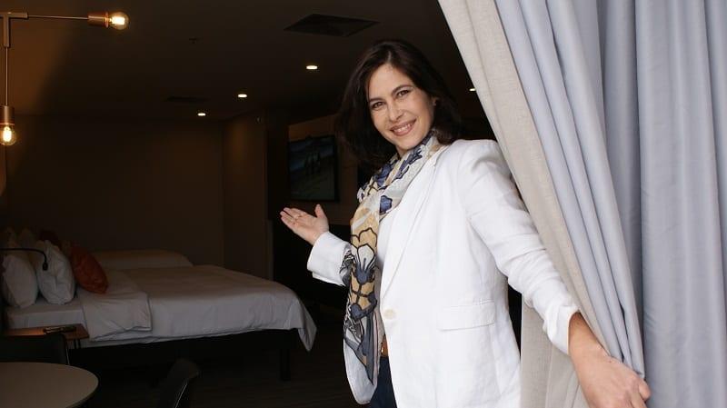 Gisele Ruiz comanda o coração do Novotel Itu