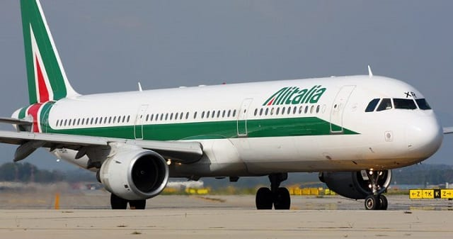 Check-in online para voos da Alitalia podem ser realizados com 48h de antecedência