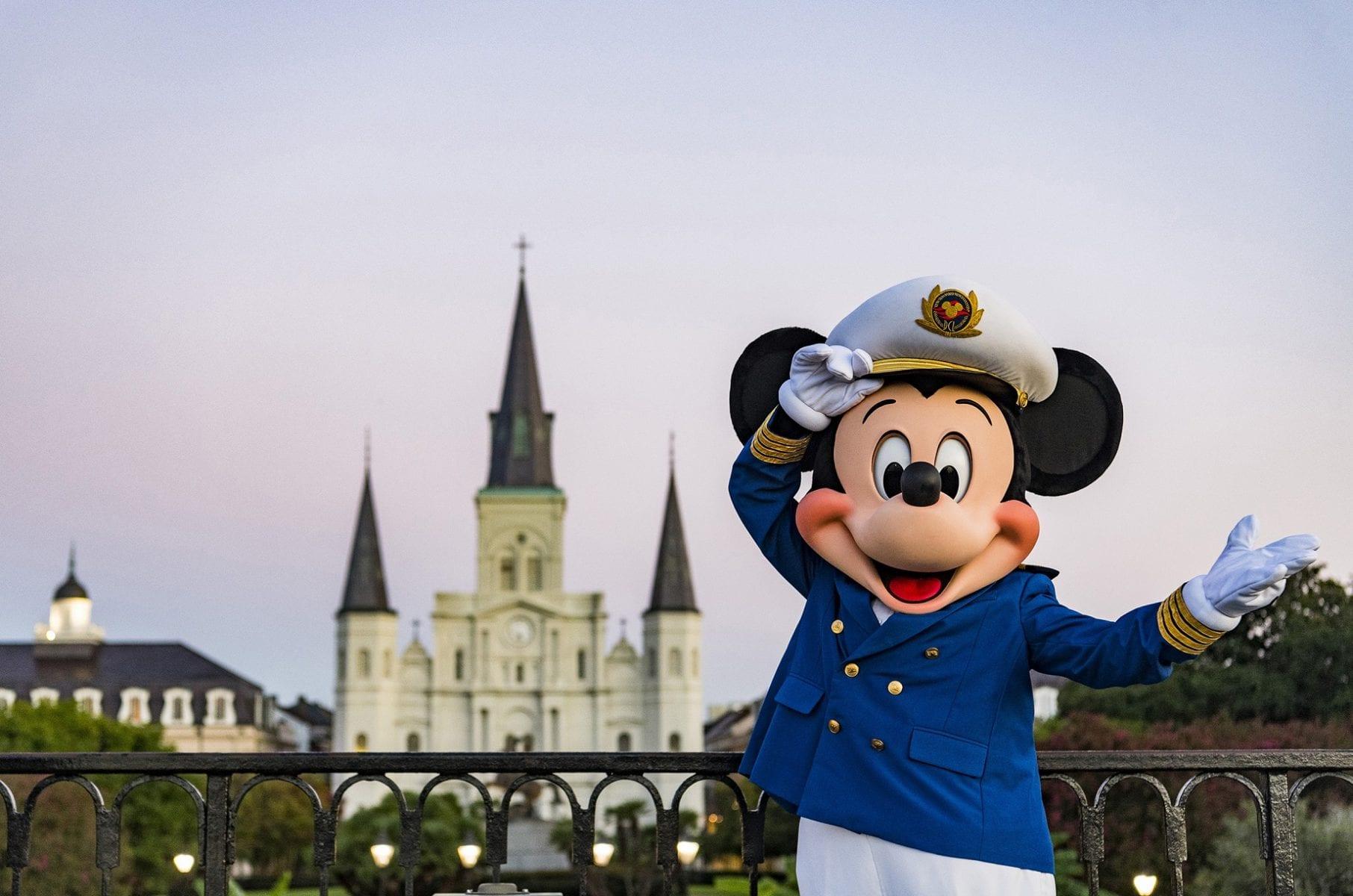 Disney Cruise anuncia itinerários com saídas de Nova Orleans