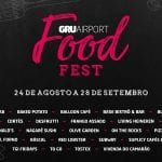 Aeroporto de Guarulhos promovei festival de gastronomia até 28 de setembro