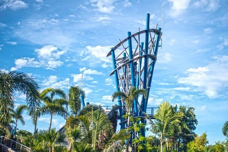 SeaWorld Orlando lança a Infinity Falls