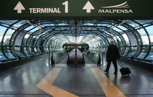 Aeroporto de Milão interrompe suas operações durante três meses