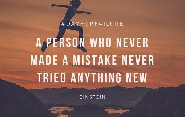 Dia Internacional para o Fracasso foi comemorado dia 10. Veja aqui maneiras de fracassar!
