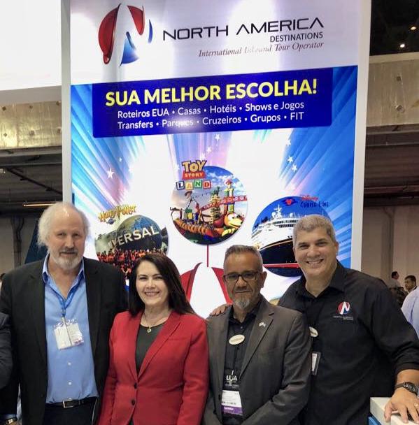 North America Destinations apresenta novidades para o mercado brasileiro
