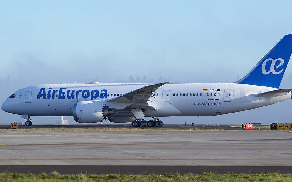 Air Europa Cargo anuncia nova unidade de operação
