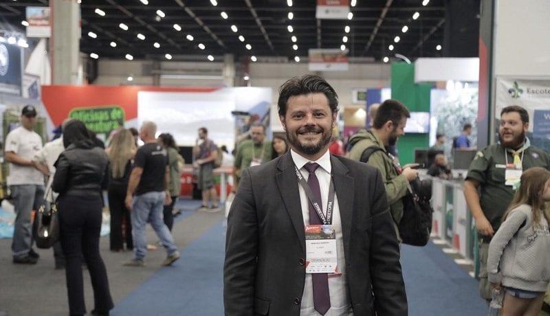 """Marcelo Marino, diretor da Adventure Sports Fair: """"O Turismo de Aventura é o que mais cresce"""""""