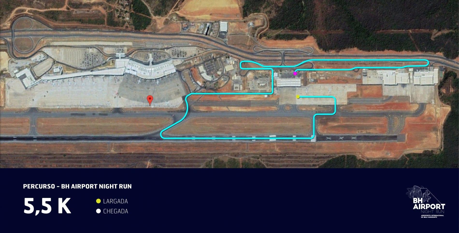 BH Airport Night Run alcança mais de mil inscritos