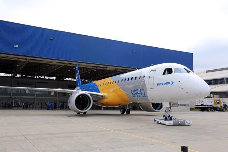 Embraer entregará 1º jato E195-E2 para Binter Canarias em 2019