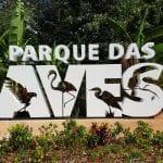 Parque das Aves recebe nova bilheteria e letreiro gigante