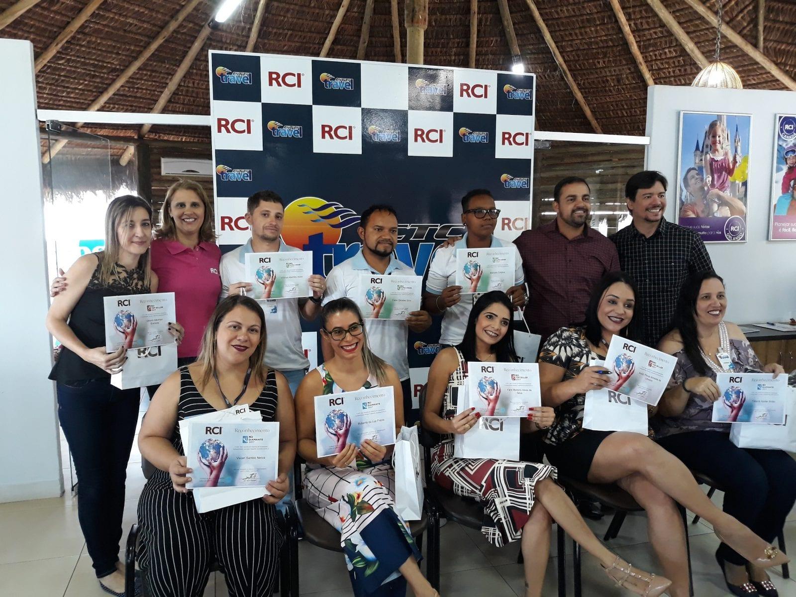RCI premia profissionais das salas de vendas dos empreendimentos afiliados