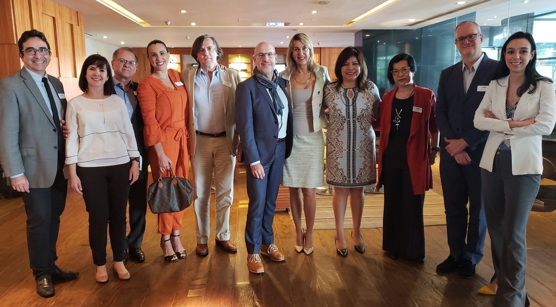 Claude Blanc reúne-se com Conselho Consultivo da WTM Latin America