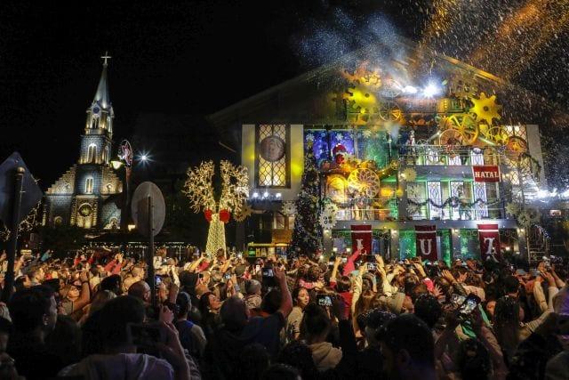 Ingressos para o Natal Luz de Gramado (RS) já superaram a meta prevista