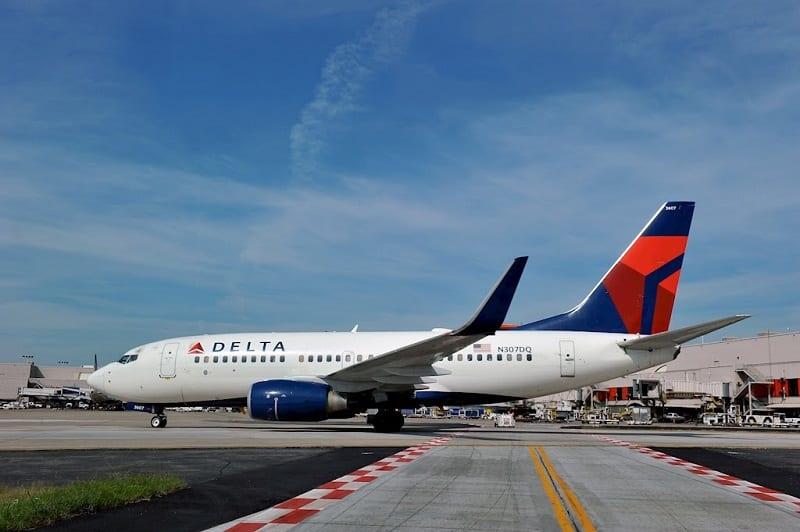 Delta Airlines divulga desempenho operacional do ano de 2018