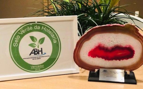 Novotel Botafogo conquista o Selo Verde da Hotelaria