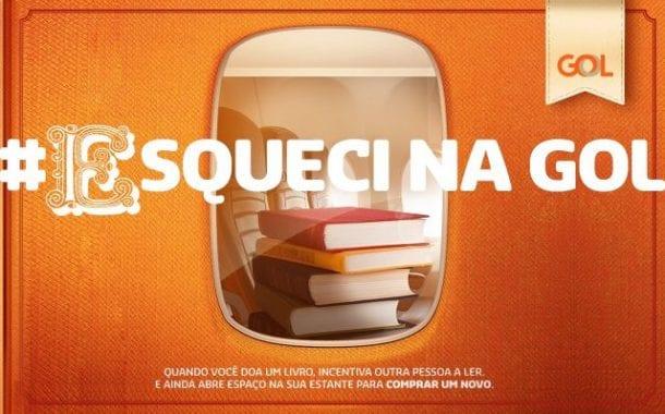Gol Linhas Aéreas promove ação para distribuição de livros no período natalino