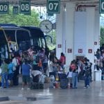 Turistas rodoviários compram passagem em cima da hora ou para o dia seguinte