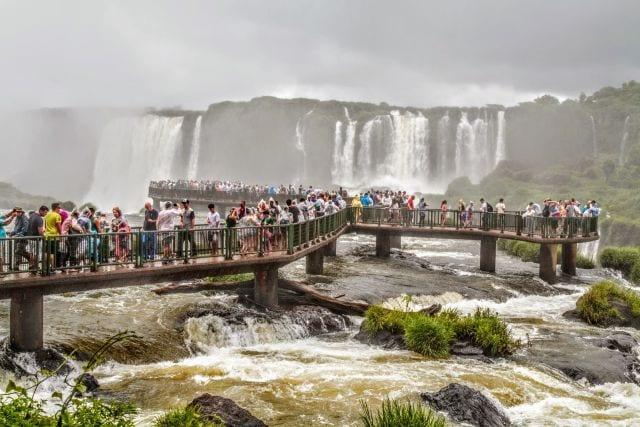 Número de estrangeiros nas Cataratas do Iguaçu cresceu 9,3%; Estados Unidos é um dos principais emissores