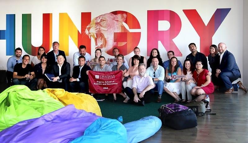 O Hurb, agência online de viagens, recebe alunos do MBA da Chapman University