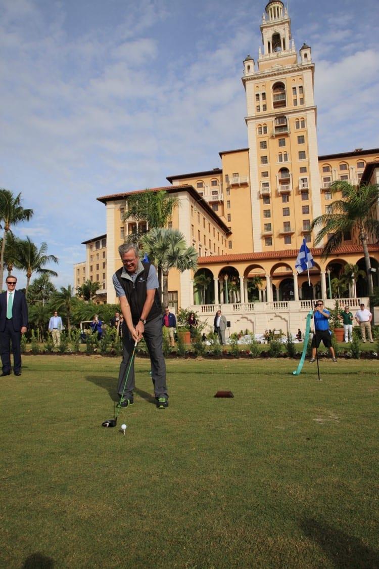 Biltmore Hotel de Miami-Coral Gables celebra reinauguração do seu campo de golfe