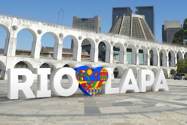 Bairro da Lapa no Rio de Janeiro ganha peça com a frase RioAmaLapa; inauguração é nesta semana