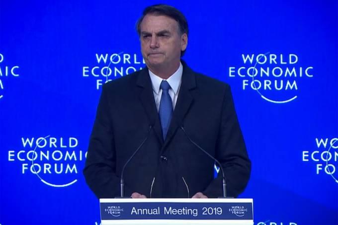Frase do Dia: presidente Jair Bolsonaro, em Davos