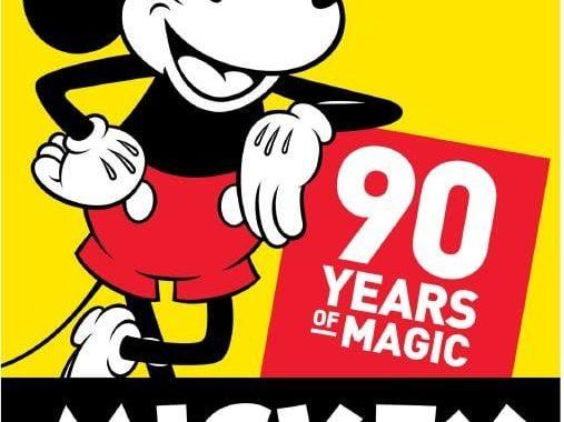 Mickey Mouse comemora 90 anos e o Presente é Nosso!