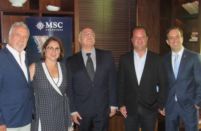 MSC Cruzeiros anuncia crescimento de 15% da oferta de cabines com quarto navio para a temporada 2019/2020