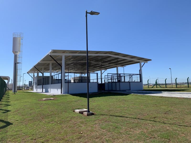 Infraero inaugura Central de Resíduos Sólidos (CRS) do Aeroporto de Goiânia