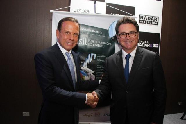 Governador João Dória e secretário estadual de Turismo, Vinicius Lummertz são homenageados no 14º ESFE
