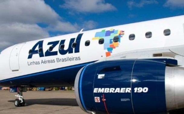 Azul informa os resultados domésticos de fevereiro de 2019