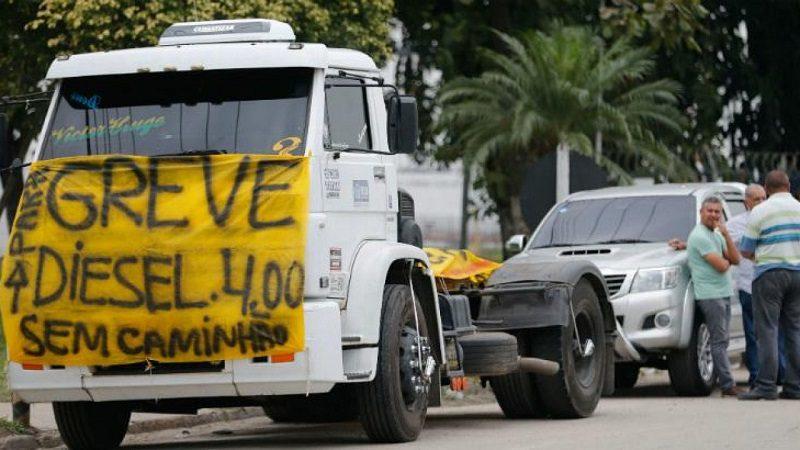 Para evitar greve dos caminhoneiros governo anuncia crédito de 500 mi